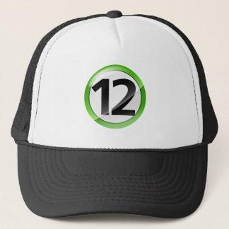 第12緑 キャップ