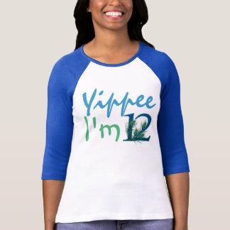 第12誕生日のワイシャツ Tシャツ