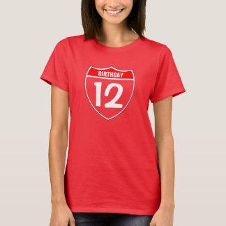 第12誕生日 Tシャツ