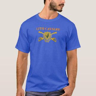 第12騎兵隊のTシャツ Tシャツ