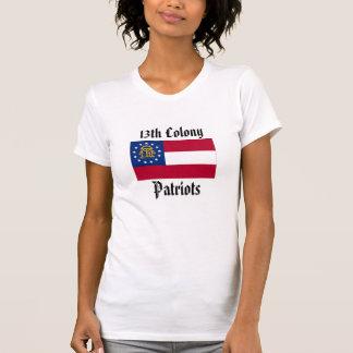 第13コロニーの愛国者-議会はジョージアを保ちます Tシャツ