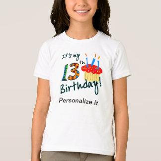 第13誕生日のTシャツ Tシャツ
