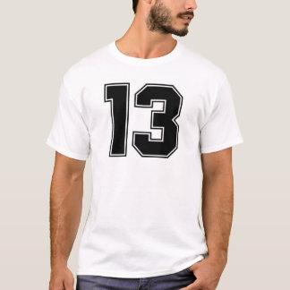 第13 frontsideのプリント tシャツ