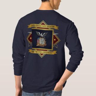 第14コネチカットの有志の歩兵 Tシャツ