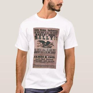 第14コネチカットの歩兵の募集ポスター Tシャツ