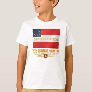 第14ジョージアの歩兵 Tシャツ