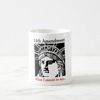 第14修正のコップ4 コーヒーマグカップ