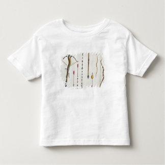 第14第15世紀、プレートからの弓矢 トドラーTシャツ