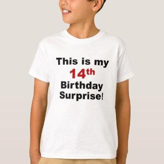 第14誕生日の驚き Tシャツ