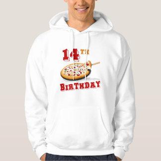 第14誕生日ピザパーティー パーカ