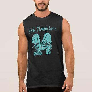 第14誕生日プレゼント14の名前をカスタムする 袖なしシャツ
