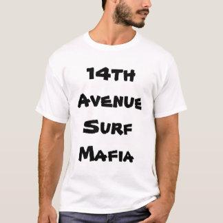 第14 aveの波 tシャツ