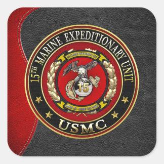 第15海兵隊進攻部隊(第15 MEU) [3D] スクエアシール