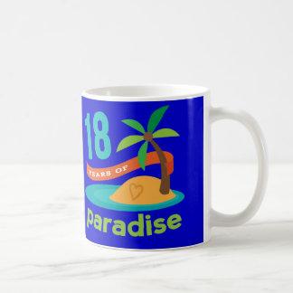 第18結婚記念日のおもしろいなギフト コーヒーマグカップ