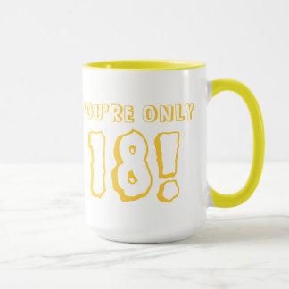 第18誕生日のマグ(Yelllow) マグカップ