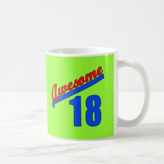 第18誕生日18歳のに素晴らしい コーヒーマグカップ