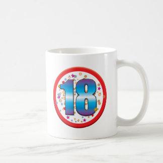 第18誕生日v2 コーヒーマグカップ