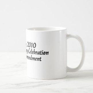 第19修正のお祝いのマグ#1 コーヒーマグカップ