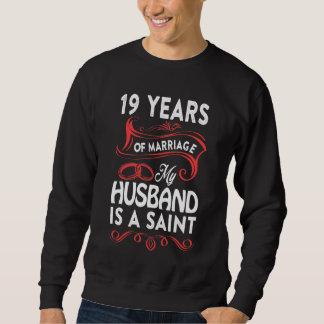 第19妻のための記念日のワイシャツ。 夫からのギフト スウェットシャツ