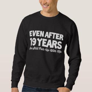 第19妻のための記念日の衣裳 スウェットシャツ