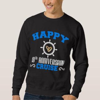 第19巡航の恋人のための記念日のワイシャツ スウェットシャツ