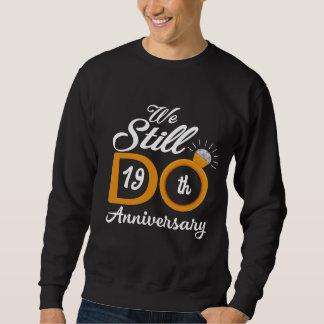 第19記念日のための素晴らしいギフトのアイディア スウェットシャツ