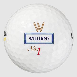第1.最も最高のなゴルファーのモノグラム ゴルフボール