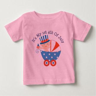 第1 7月第4 (ベビー) ベビーTシャツ
