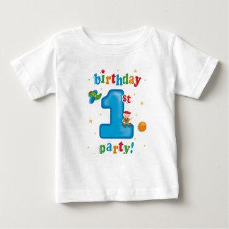 第1 Birtdayのパーティー ベビーTシャツ