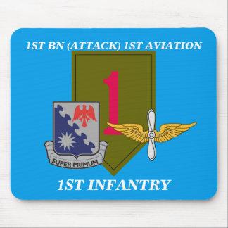 第1 BN. (攻撃)の第1航空第1歩兵のマウスパッド マウスパッド