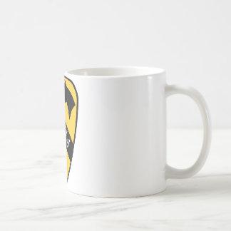 第1 Cav。 Fort Hood コーヒーマグカップ