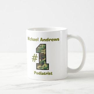 第1 Podiatrist V51博士 コーヒーマグカップ