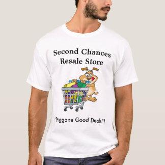 第2のチャンスの転売の店 Tシャツ