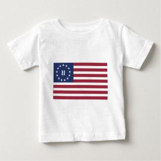 第2アメリカ革命の旗 ベビーTシャツ