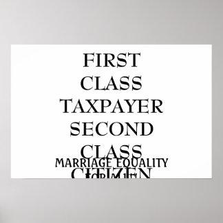 第2クラスの市民 ポスター