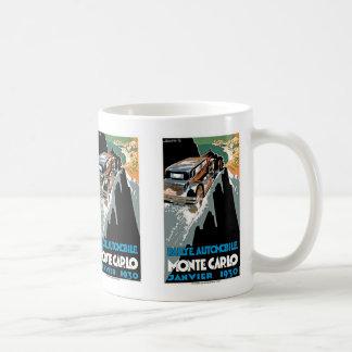 第2グランプリの自動車deモナコ コーヒーマグカップ