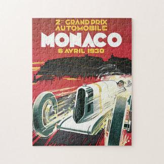 第2グランプリの自動車deモナコ ジグソーパズル