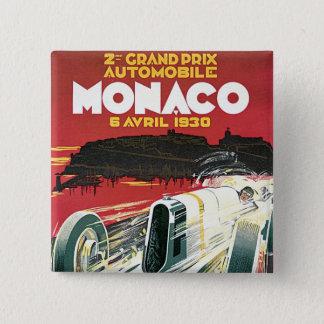第2グランプリdeモナコ 5.1cm 正方形バッジ