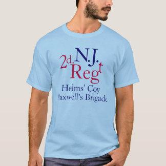 第2ニュージャージーの連隊 Tシャツ