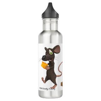 第2マウスはチーズを得ます ウォーターボトル