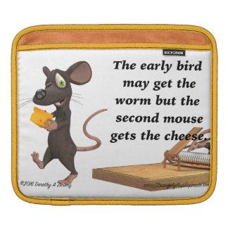 第2マウスはチーズを得ます iPadスリーブ