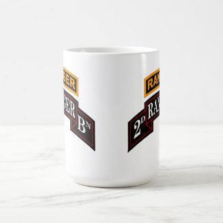 第2レーンジャーの大隊のコーヒー・マグ コーヒーマグカップ