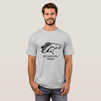 第2世代別充電器の大人のTシャツ Tシャツ