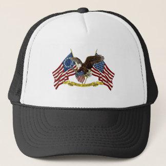 第2修正の自由のワシ キャップ