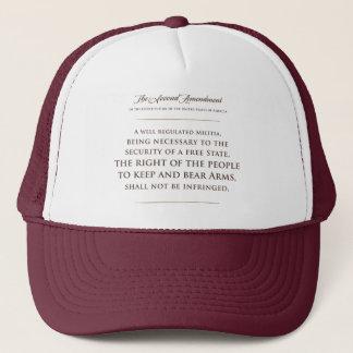 第2修正。 帽子