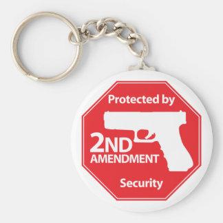 第2修正-赤によって保護される キーホルダー
