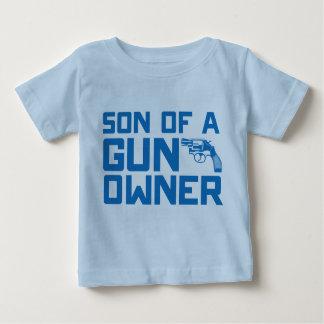 第2修正: 銃所有者の息子 ベビーTシャツ