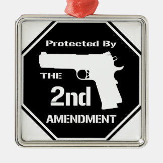第2修正(黒い) .pngによって保護される メタルオーナメント