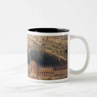 第2共和国の布告、1848年 ツートーンマグカップ