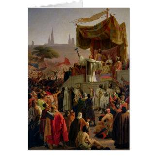 第2回十字軍を説教するサンベルナール峠 カード